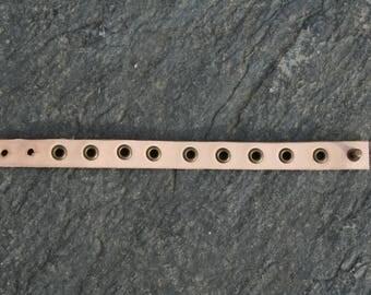 Leather Bracelet, handmade by myself / Handmade leather bracelet
