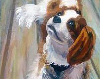 Custom Pet Portrait - 18x18