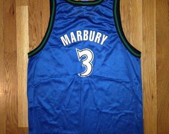 ... 3 Stephon Marbury Jersey vintage stephon marbury minnesota timberwolves  champion jersey deadstock NWT 90s made in USA ... fb16197a4