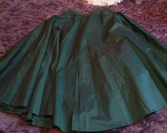 Elegant Paris 1950s spring skirt!