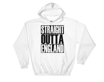 Straight Outta England Hooded Sweatshirt