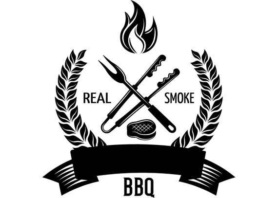 Logo De Barbacoa 17 Parrilla Asado Carnicero De Barbacoa