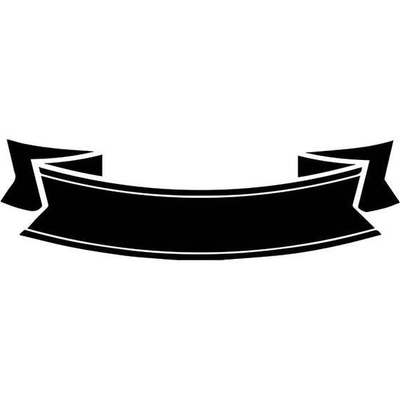 Banner 24 Vintage Ribbon Logo Label Sticker Emblem Scroll