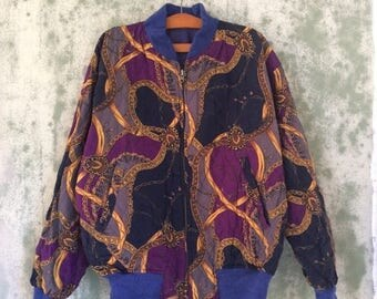 20% OFF Vintage Reversible Baroque Jacket