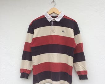 Vintage CANTERBURY Rugby Polo Shirt
