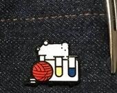 Yarnistry pin badge
