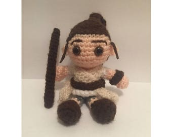 Rey Amigurumi Crochet Doll