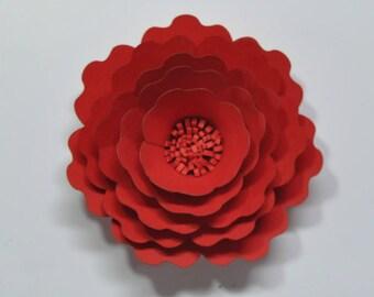 DIY flower kit  card stock flower kit  1 mini flower