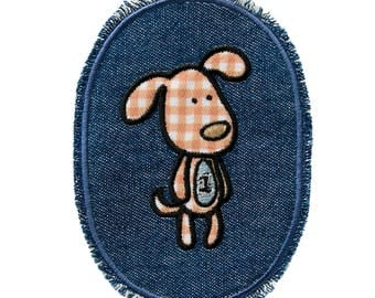 Patch-Children's jeans patch Teddy-brown-10.2 x 7.5 cm-by catch-the-Patch ® patch appliqué applications for ironing application patches patch