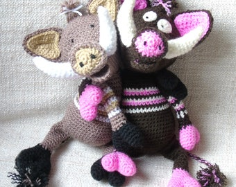 Tutorial or pattern boar crochet