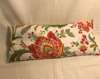 """Purple Pillow in """"India Floral"""""""