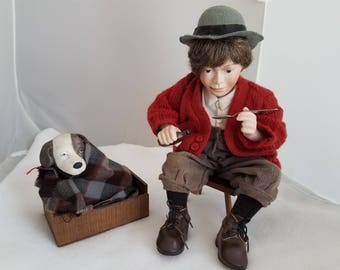 """Norman Rockwell Signature Collection Figure """"Bedside Manner"""""""