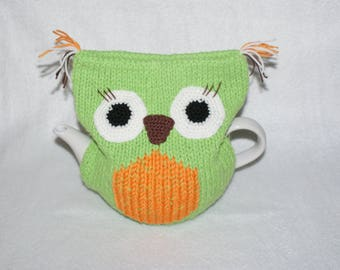 tea,tea,tea,hot tea,heating pad on the kettle,gift,green,owl decor for kitchen
