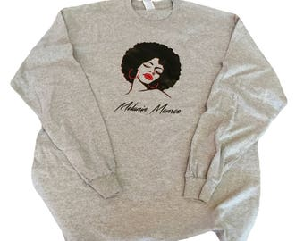 Long Sleeve Melanin Monroe Tee