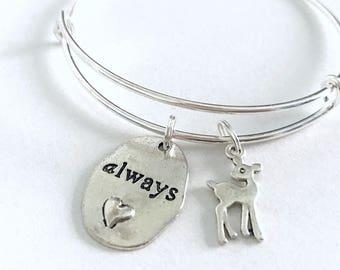 Severus Snape bracelet || Harry Potter bracelet || Always bracelet