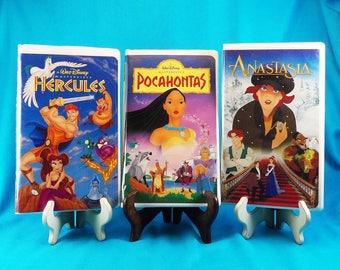 Vintage Disney Movies VHS Lot of three