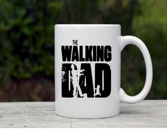 Father's day mug/walking dead/  coffe mug for dad/ gifts for him, father's day gift/ gifts for dad/new dad
