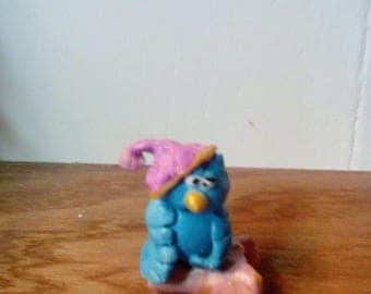 OWL who go to sleep, polymer clay