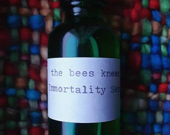 Immortality Serum- Natural Herbal oils • Sage, Rose Hips, Rosemary • Mature skin care. Anti Wrinkles, Sagging, Dullness, Age spots