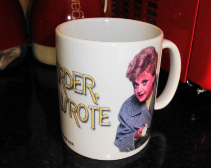 Personalised Angela Lansbury Murder She Wrote White 10oz Ceramic Mug