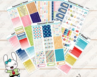 Blessed Faith Weekly Planner Kit --- Planner Stickers --- For Use with the Classic HP --- 06