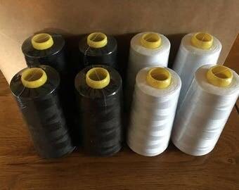 New Overlocker Thread - White - 3000yds per cone