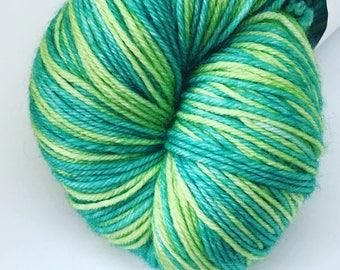 100g self-striping sock yarn