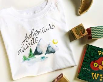 Adventure Awaits /// Toddler Tee
