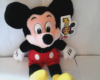 Vintage Plush Mickey Mouse