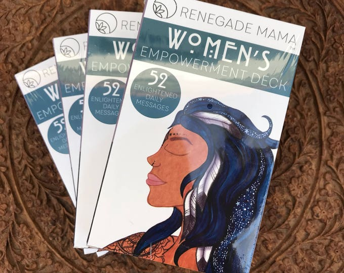WHOLESALE- 10 Decks Women's Empowerment Deck by The Renegade Mama