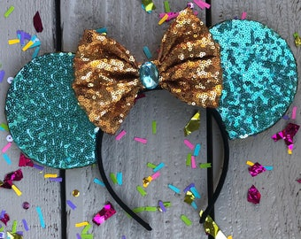 Princess Jasmine inspired Mouse Ears