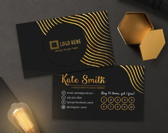 LLR Punch Cards, Free Personalized, Buy 10 Get 1 Free or Free Leggings, LuLa Customer Reward Card, Loyalty Card For lularoe Retailers