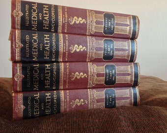 Medical & Health Encyclopedias from 1950s