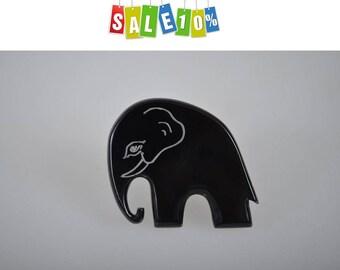 "Vintage brooch ""Elephant"" Marion Godart Paris"