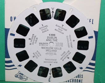 Vintage Sawyers Viewmaster Reel Dublin And The Wicklow Hills Ireland 1320