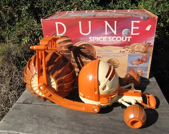 VTG LJN Dune Vehicle 1984 Spice Scout Original Box Opened 19 inch
