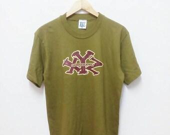 Hot Sale!!! Rare Vintage 90s Deadstock XYZ SKATE SUPPLY Big Logo Spell Out T-Shirt Hip Hop Skate Swag Medium Size