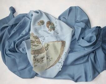 Japanese Kimono Silk Fabric