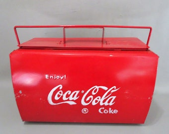 Coca Cola Cooler Cooler Metal gift female man collectable