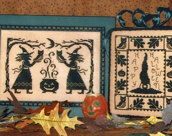 Bewitched by Waxing Moon Counted Cross Stitch Pattern/Chart