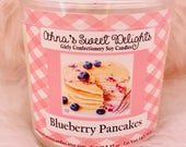 Blueberry Pancakes Girly Confectionery Soy Candle