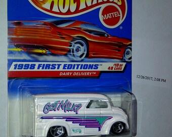 Hot Wheels Got Milk Truck New On Card