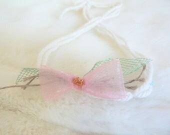 Headband newborn photo props