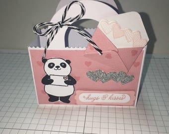 Panda Valentine | Etsy