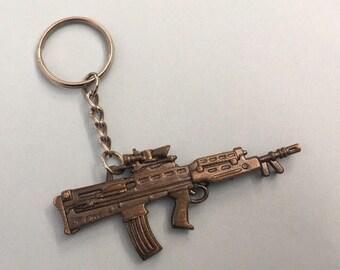 1990's Desert Eagle Rifle Gun Keychain