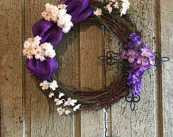 Custom Vine Wreaths