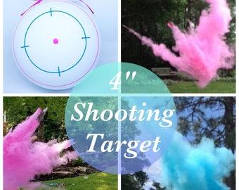 """4"""" SHOOTING TARGET Gender Reveal Shooting Target Gender Reveal Ideas Gender Reveal Party Baby Boy Baby Girl"""