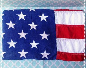 Vintage Distressed 50 Star American Flag 3 x 5 feet