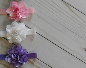 Spring flower Headband   Flower Headband   Spring Hair Clip   Flower Hair Clip   Easter Bow   Baby Hair clip   Girls Hair Bow   accessory