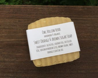 Sweet Orange & Brown Sugar Soap